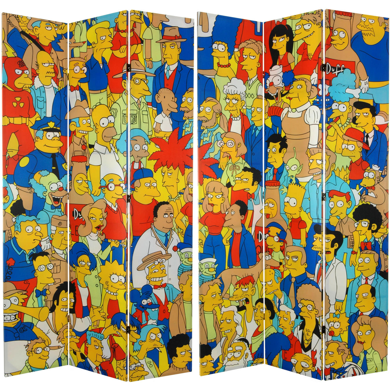 All About Room Dividers and Folding Screens Simpsons 7ft Room