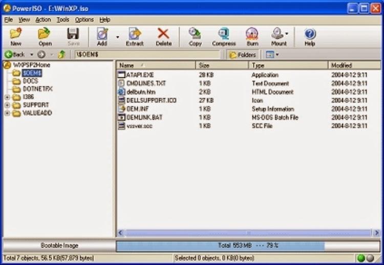 تحميل برنامج باور أيزو لحرق وإنشاء الأسطوانات والأقراص مجاناً PowerISO 5.9 CD / DVD