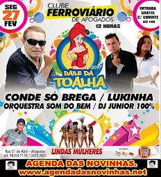 CLUBE FERROVIÁRIO DE AFOGADOS - BAILE DA TOALHA 2017.