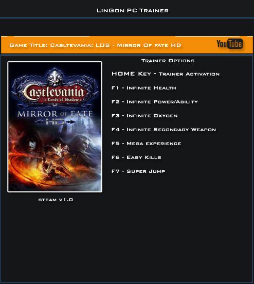 трейнер скачать Castlevania Lords Of Shadow 2 - фото 9