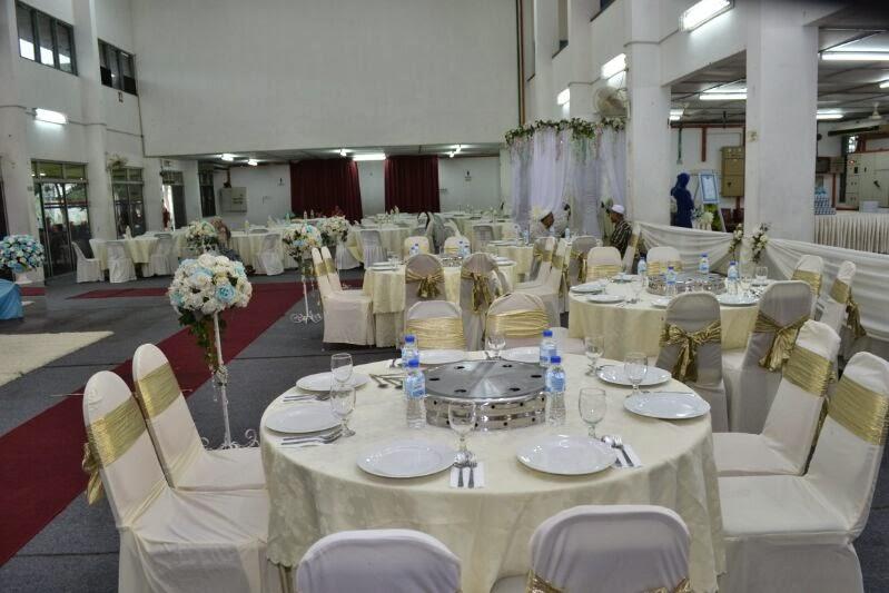 majlis perkahwinan kami @ dewan tnb...