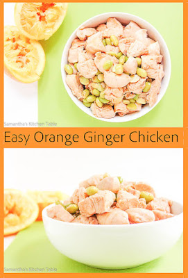 Easy Orange Ginger Chicken