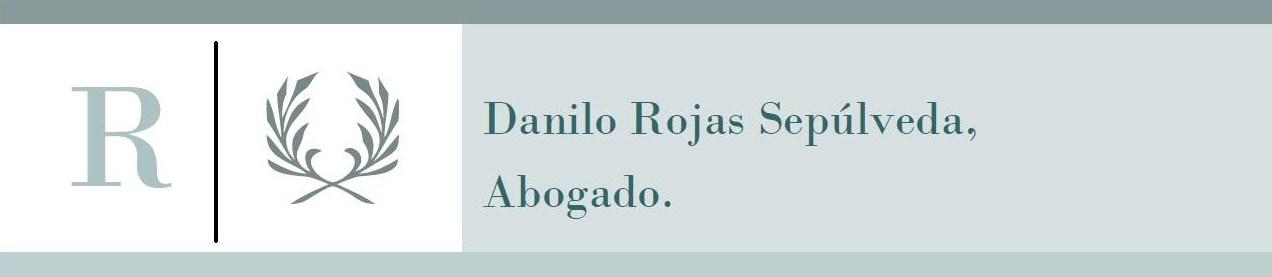 Danilo Rojas Sepúlveda, Abogado.