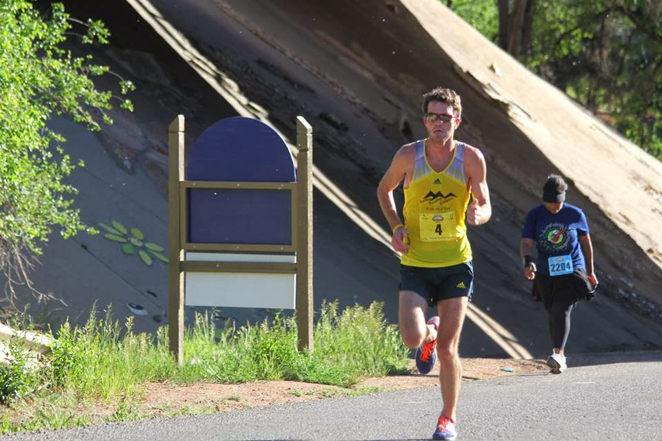 Brandon Birdsong at Garden of the Gods 10 mile