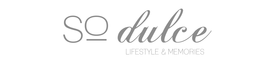 so dulce: lifestyle&memories
