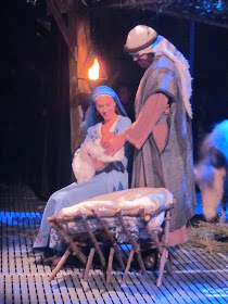 Marsden played baby Jesus in the Easter Pageant!