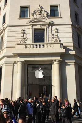 Apple Store in Barcelona