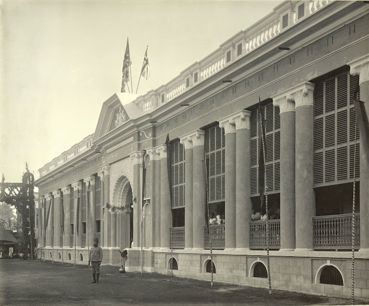 The Raj College - Burdwan (Bardhaman), Bengal, 1904