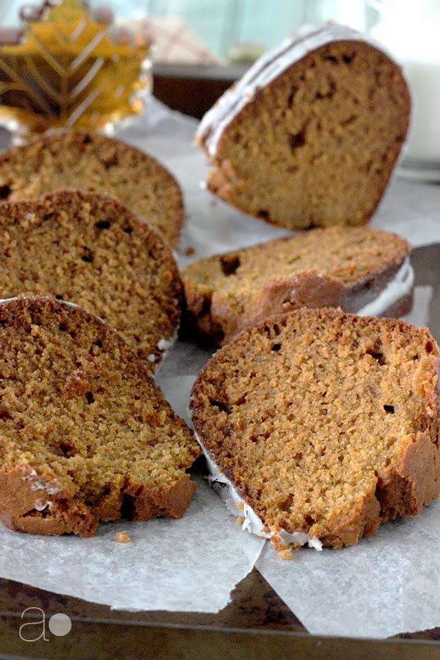 ambrosia: Pumpkin and Maple Bundt Cake