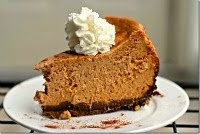 Crock Pot Pumpkin Cheesecake