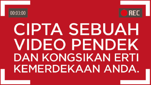 Merdeka Video Contest – Aku Sahut Cabaran!, pertandingan video merdeka escape