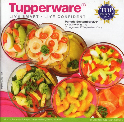 Katalog Tupperware Promo September 2014