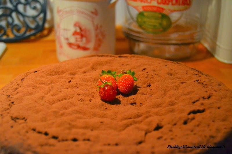 La Caprese al Cioccolato Fondente per Ognissanti - shabby&countrylife.blogspot.it