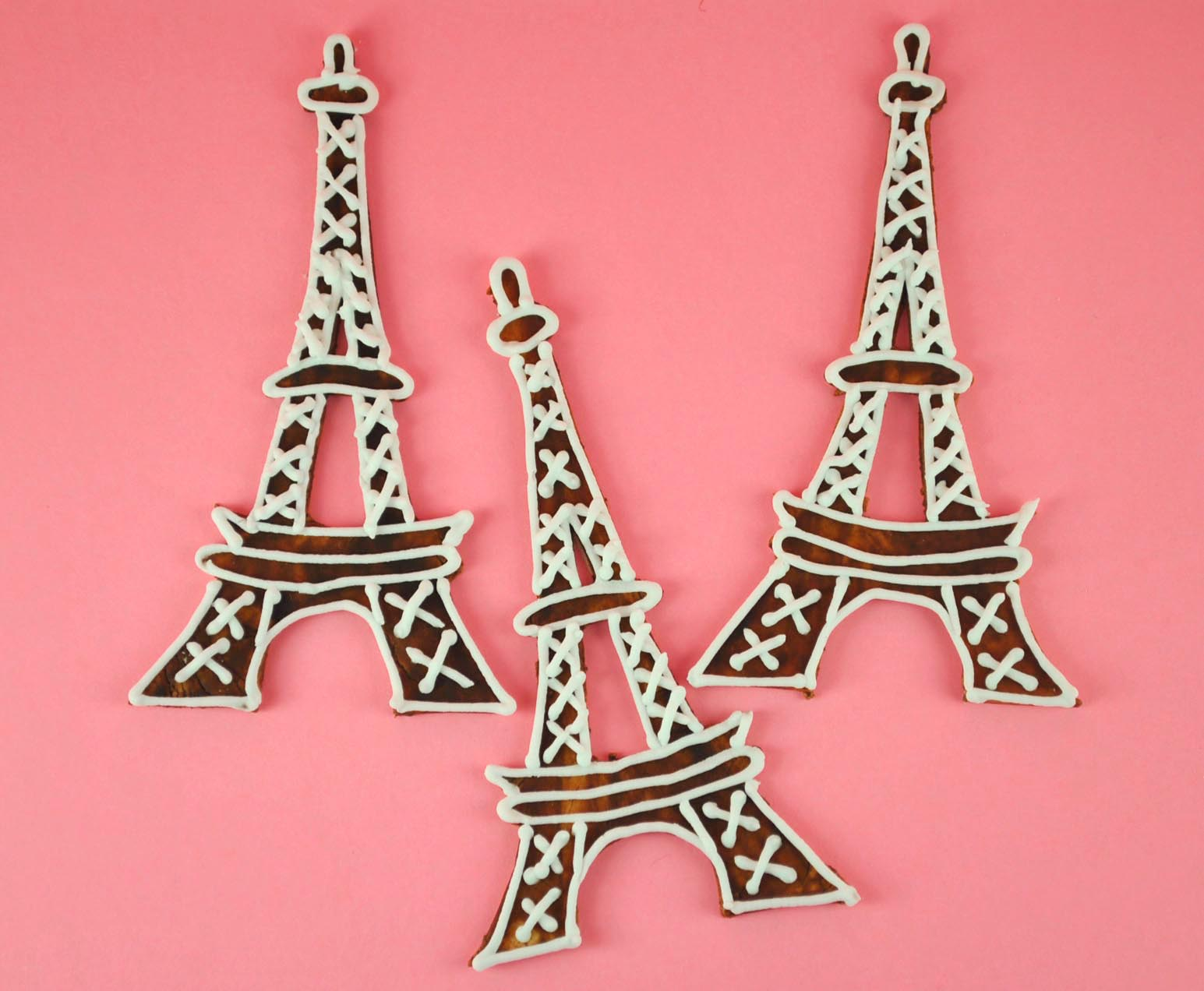 how to make eiffel tower cupcake toppers bake happy