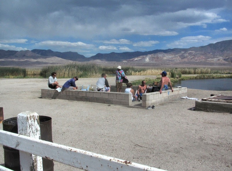 Life on the open road fish lake hot springs for Fish springs nevada
