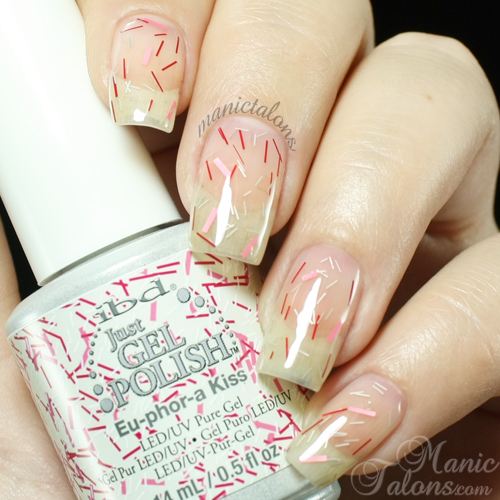 IBD Just Gel Eu-phor-a Kiss Swatch