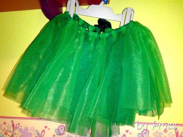 Porque Hago Del Baño Verde Oscuro: de tul en dos tonos de verde una cinta de lazo verde oscuro et voilà