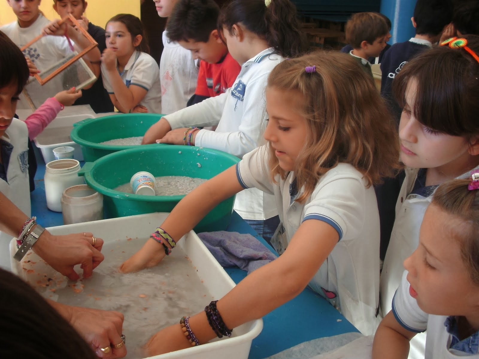4º - RECICLANDO PAPEL - 2013