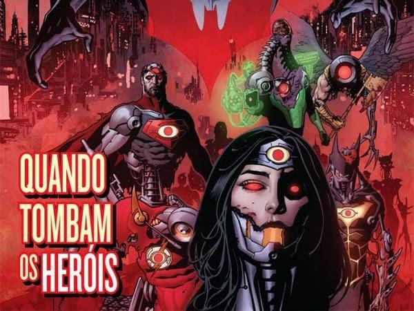 Lançamentos de abril da Panini Comics - DC Comics