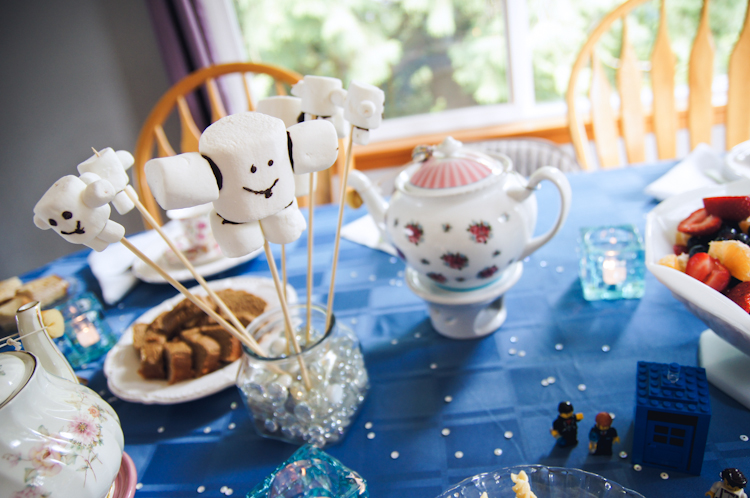 Adipose :: Doctor Who Tea Party :: Ribbons Down My Back