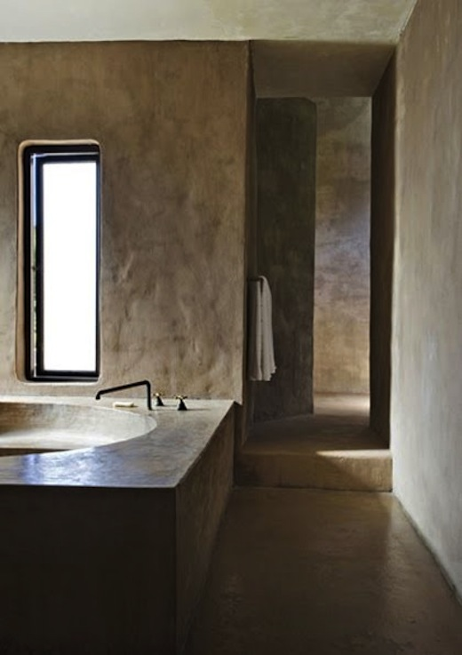 Clothespeggs concrete bathrooms - Badkamer cocooning ...