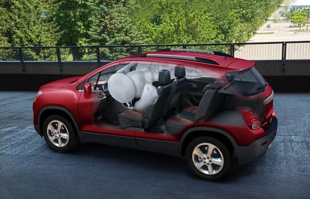 Seguridad Chevrolet Trax 2015
