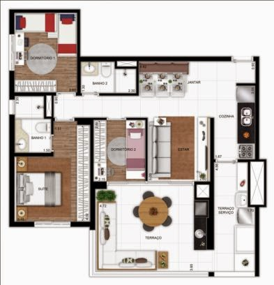 apartamento vergueiro 3 dormitórios em sp