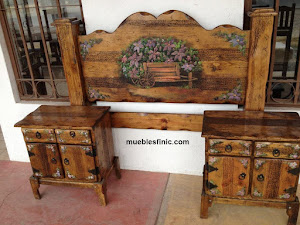 mexican rustic furnitures