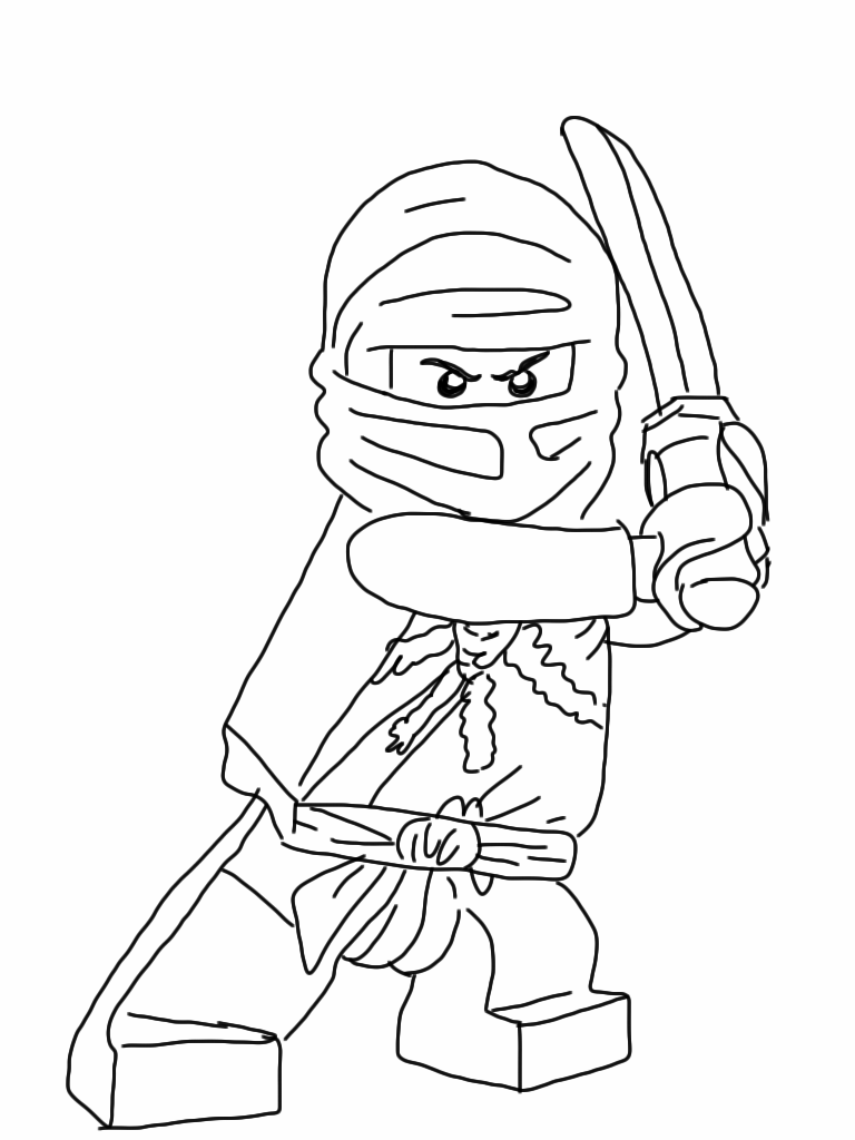 lego ninjago characters coloring pages-#4