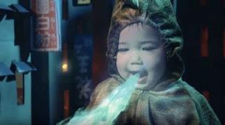 جودزيلا الصغيرة, أب يحول ابنته إلى وحش طوكيو