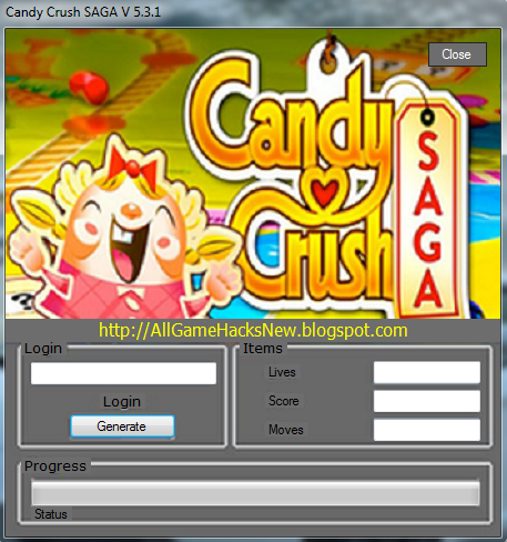 Candy Crush Saga GOLD Generator Adder