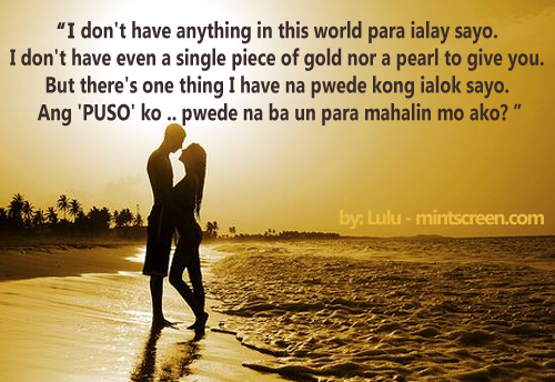 love quotes text messages tagalog