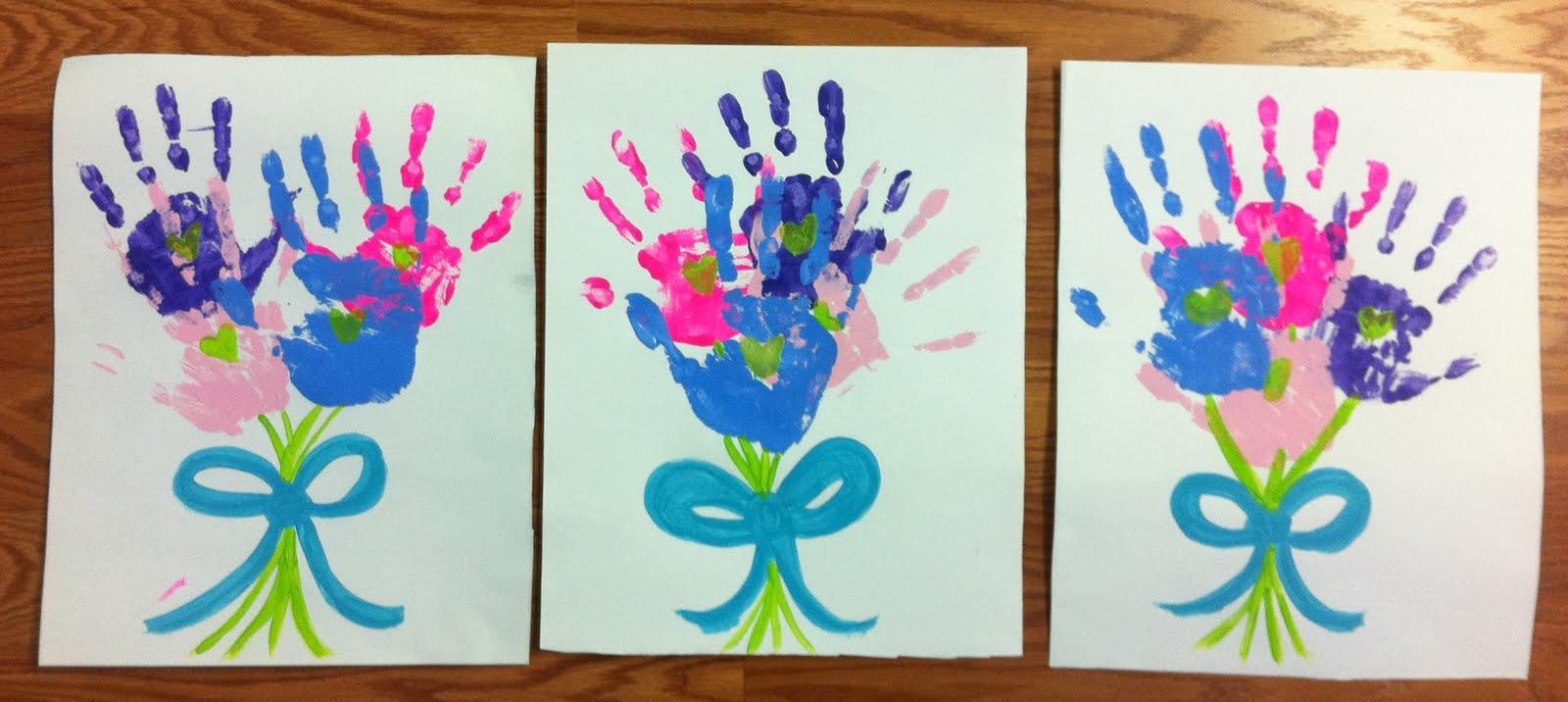 Mother Day Craft Ideas For Kids Part - 45: Motheru0027s Day Bouquet