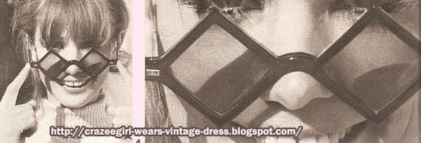 sunglasses 1966 60s 1960 diamond Marly