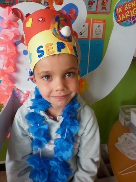 Seppe wordt 6 jaar!
