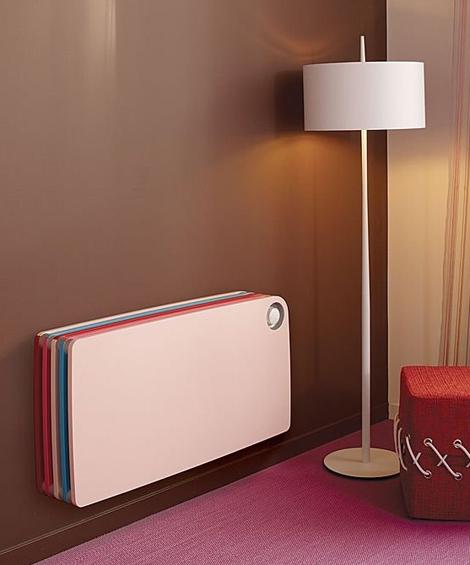 Al poner un toque muy divertido y colorido en sus radiadores, Jaga ha diseñado una colección muy adecuada para habitaciones de niños.