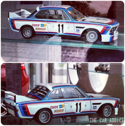 BMW 3.0 CSL, Art Car by Frank Stella 1976