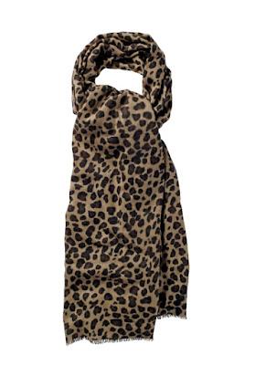 Hush Cashmere Leopard Shawl