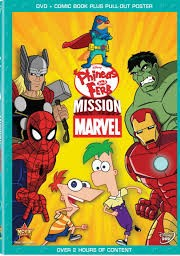 Ver Phineas y Ferb: Mision Marvel Online