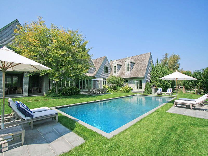 Cococozy see this house an all american 8 5 million for Pool design hamptons