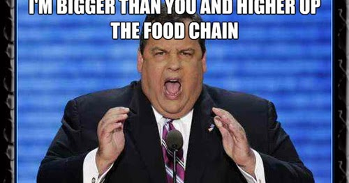 chris christie get in my belly fat disgusting pig meme political memes chris christie the real life fat bastard,Christie Meme