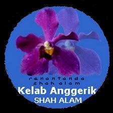 Logo Kelab Anggerik Shah Alam.