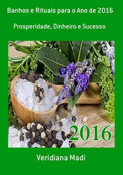 Livro: Banhos e Rituais para o Ano de 2016