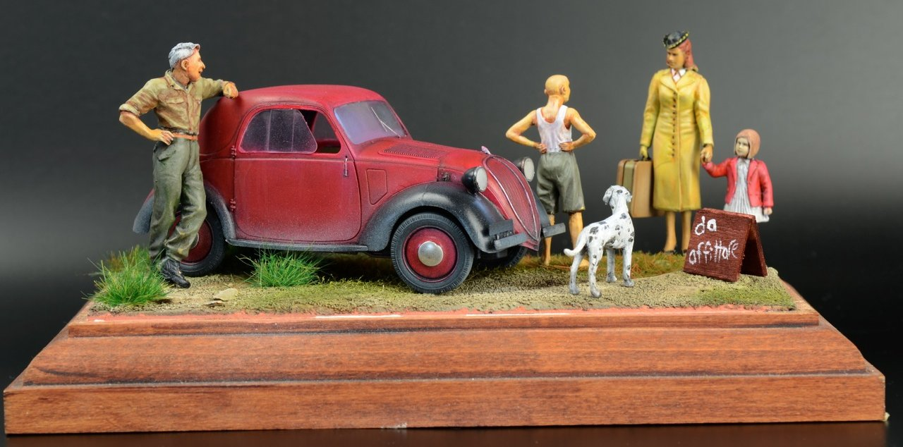 Review build - Bronco's 1/35th scale Italian Light Civilian Car
