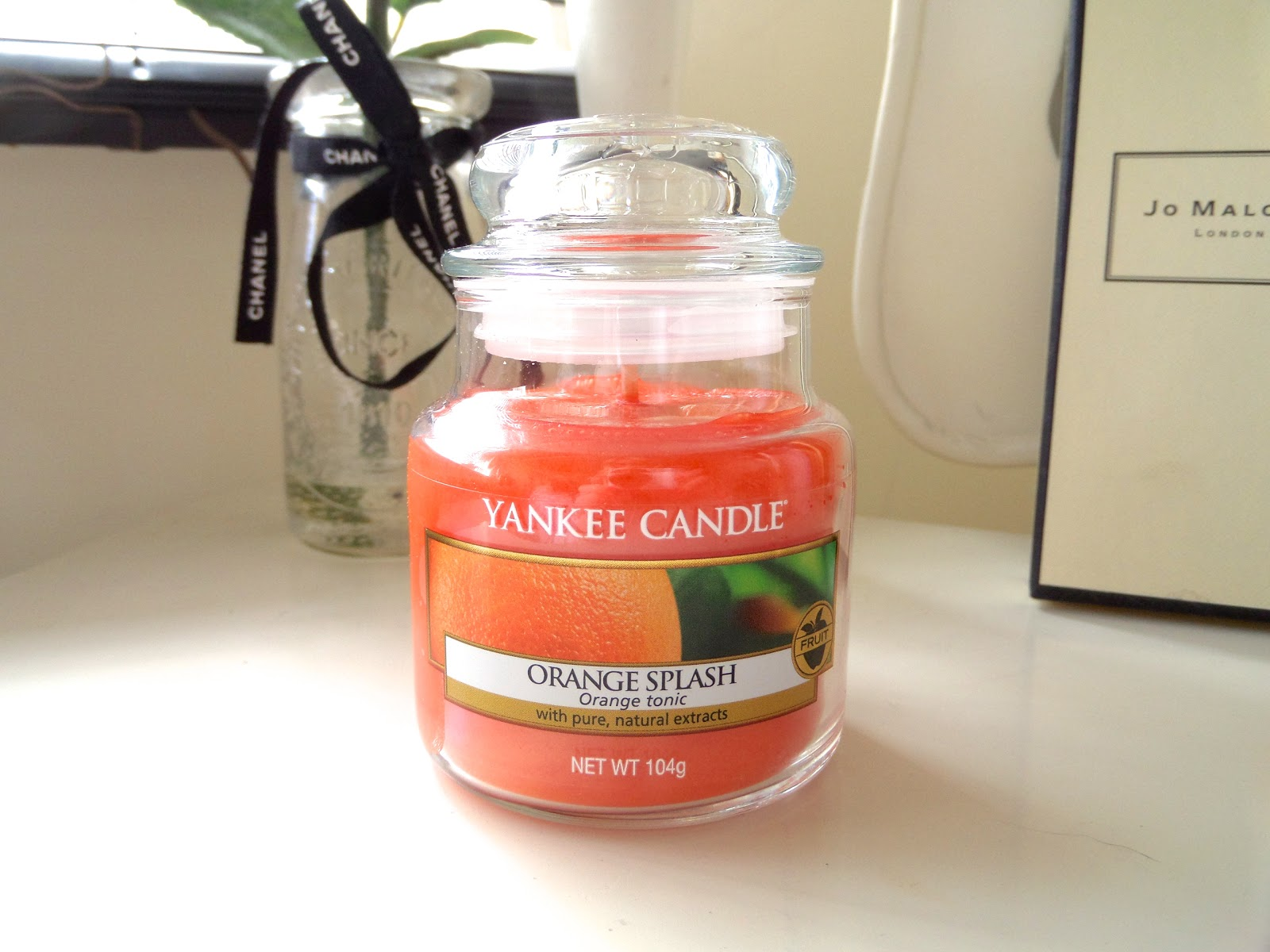 Yankee Candle Orange Splash Review