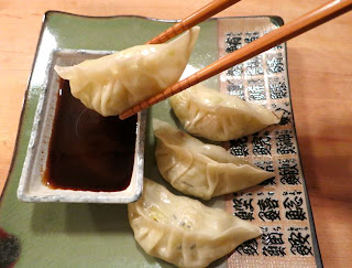 The Veracious Vegan: Sauerkraut Dumplings with Hoisin Sauce