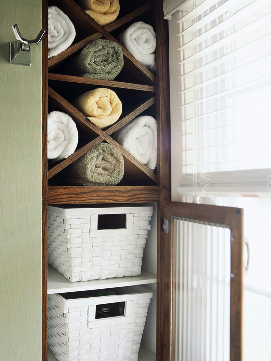 Modern furniture new ideas for storage solutions by using for Bathroom towel storage