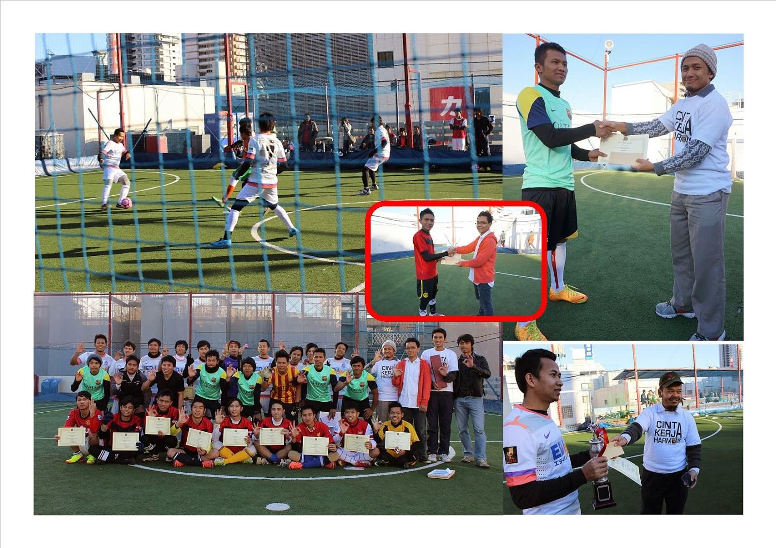 Keep PKS On Track Turnamen Futsal PKS Di Jepang
