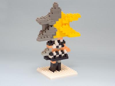 ナノブロックのソラカラちゃんをアレンジして、ソラボーグ634
