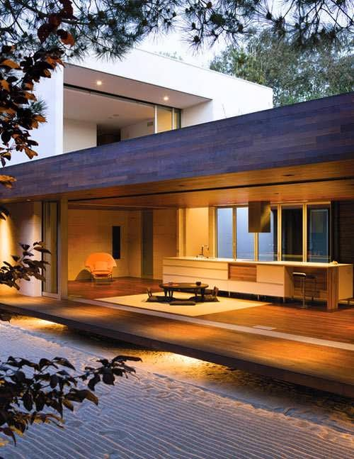 Southern california house design offers unmatched privacy for House behind house designs